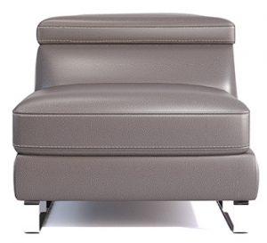 155 Fotel maxi, bez boczków 72cm Clevland